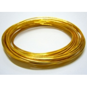 Aluminium Wire 1.5mm - Gold