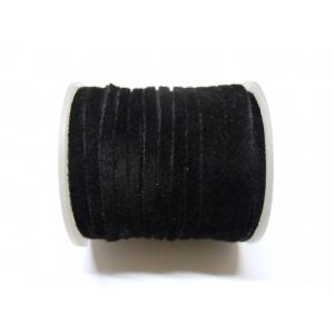 Cordon De Ante Plano 3mm - Negro