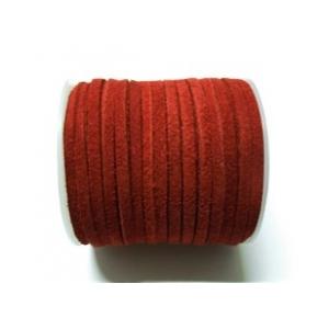 Cordon De Ante Plano 3mm - Rojo