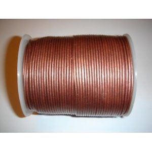 Leather String 1.5mm - Antique Copper 144