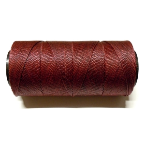 Polyester Brazilian Waxed 1mm - Maroon 0769