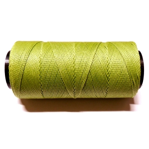 Polyester Brazilian Waxed 1mm - Light Green 1019
