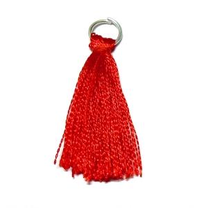 Rayon Tassel - Red 25