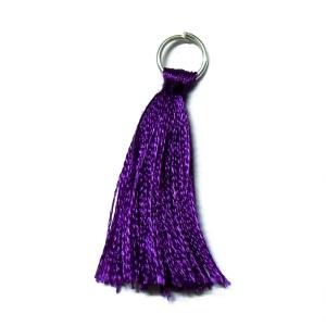 Rayon Tassel - Dark Purple 31D