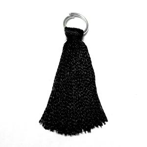 Rayon Tassel - Black