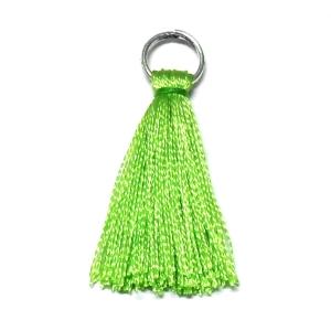 Rayon Tassel - Light Green 10
