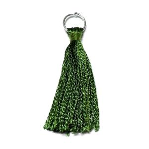 Rayon Tassel - Olive Green 16