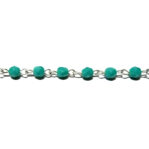 CBCFE 4mm - Opaque Turquoise