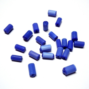 Irregular Glass Tube - Dark Blue