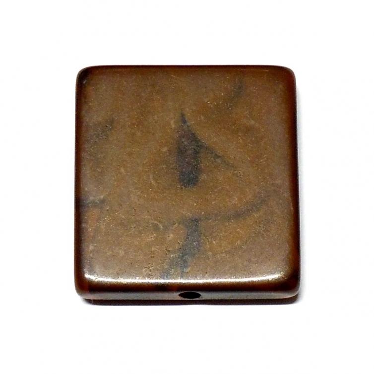 Cuadrado Metacrilato Nido 22mm - Marron Oscuro