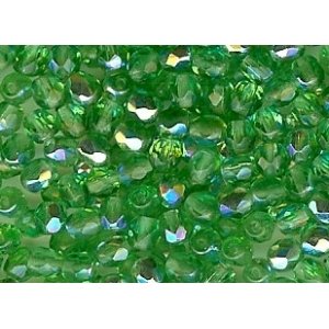 Glass Faceted Ball 4mm