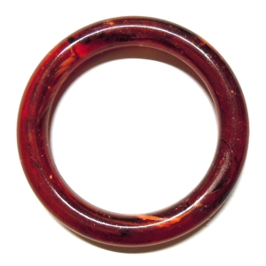 Methacrylate Ring 60mm - Speckled Red