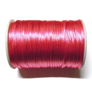 Satin Cord 2mm - Dark Pink