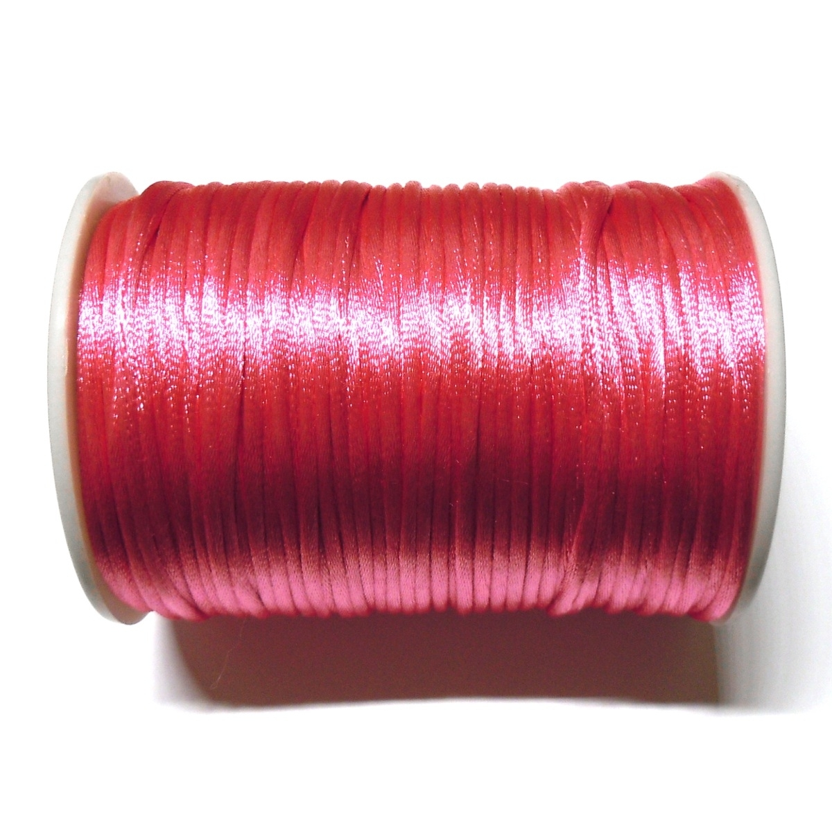 Satin Cord 2mm - Dark Pink