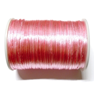 Satin Cord 2mm - Light Pink