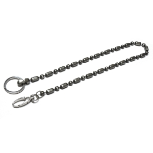 Chain For Keys - Balls And Ovals 54Cm