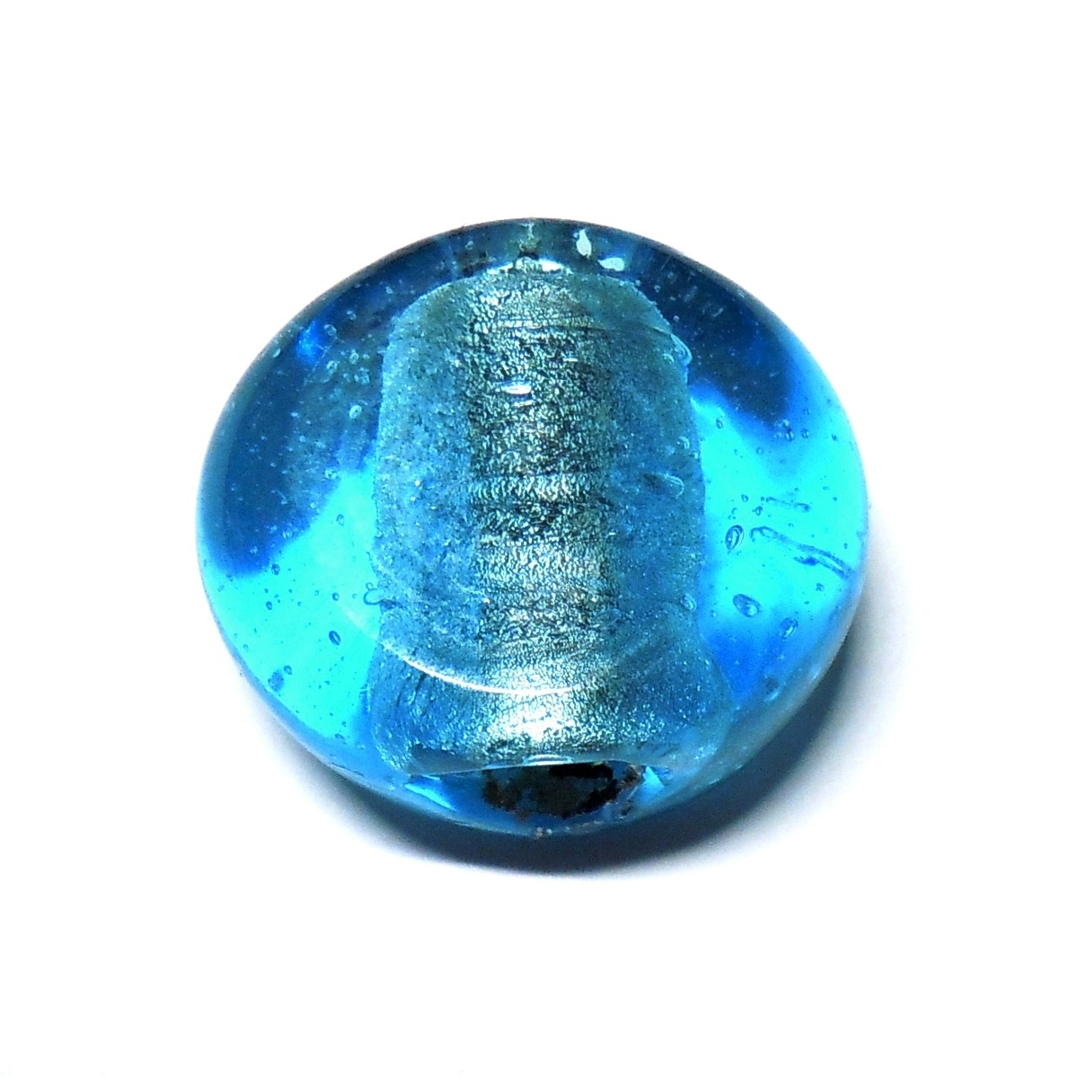 Tablet Shaped Glass - Blue