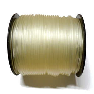 Rubber Cord 2.5mm - Transparent
