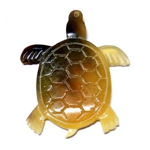 Tortoise Horn Pendant