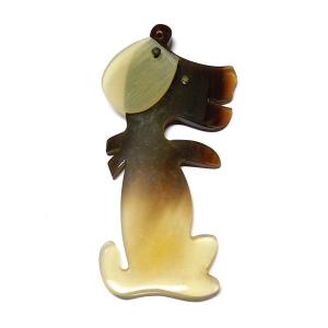 Dog Horn Pendant