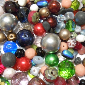 Glass Bead Mix - Multicolour