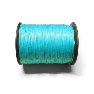 Cotton Waxed Cord 0.6mm - Blue