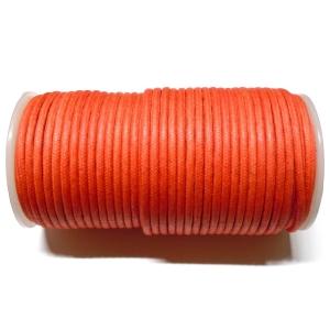Cordon Algodon 3.8mm - Naranja