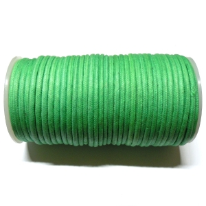 Cotton Waxed Cord 3.8mm - Green