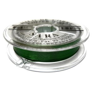 Hilo De Cobre 0.3mm - Verde