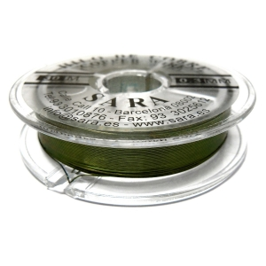 Copper Wire 0.3mm - Olive Green