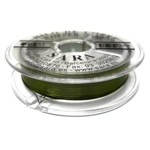 Hilo De Cobre 0.3mm - Verde Oliva