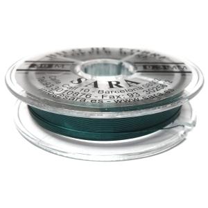 Hilo De Cobre 0.3mm - Turquesa Oscuro