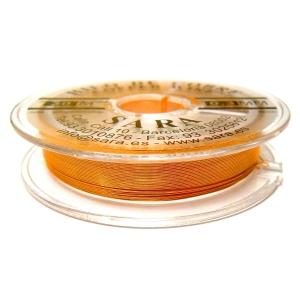 Hilo De Cobre 0.3mm - Naranja
