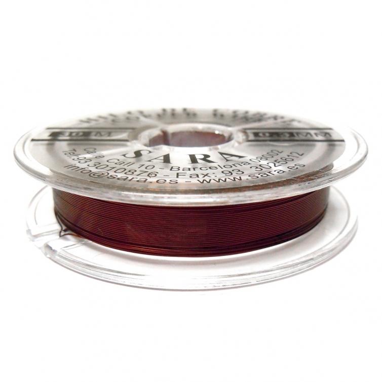 Copper Wire 0.3mm - Dark Maroon