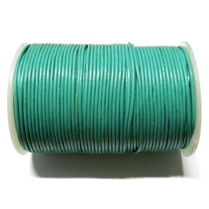 Leather Cord 2mm - Turquoise 117