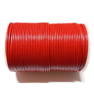 Leather Cord 2mm - Red 105