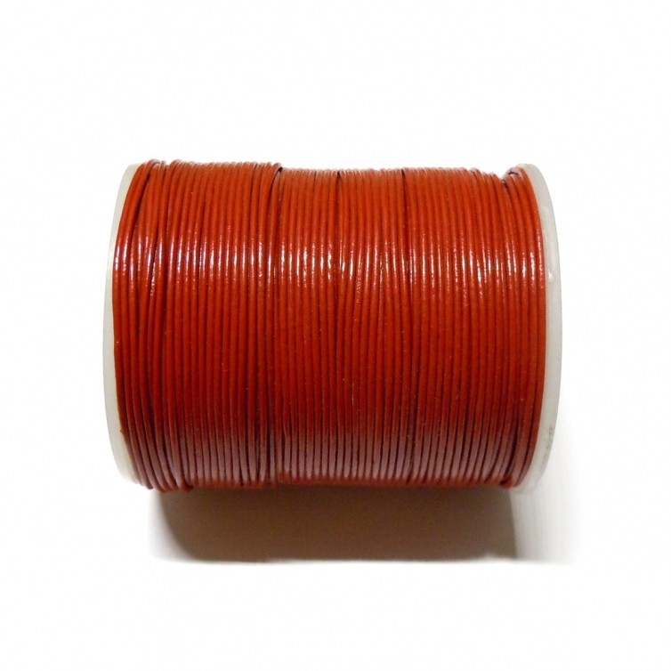 Leather Cord 1mm - Red 105