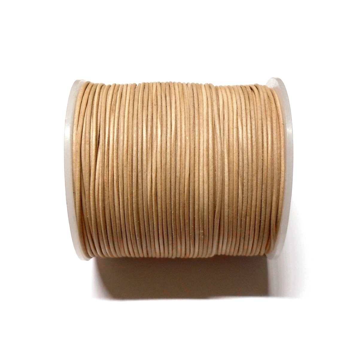 Leather Cord 1mm - Natural 101