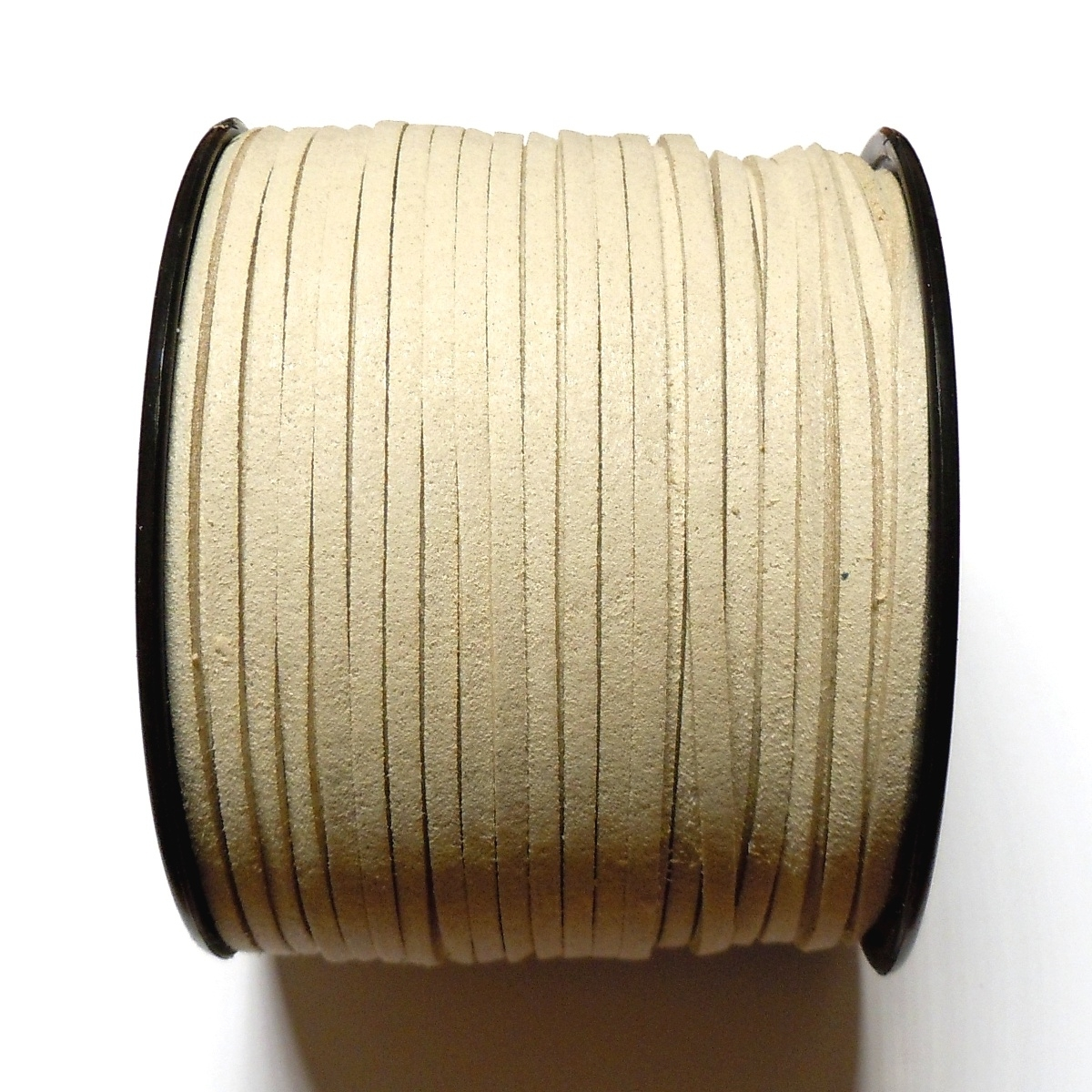 Imitation Flat Suede Cord 3mm - Stone 2