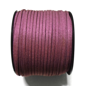 Imitation Flat Suede Cord 3mm - Dark Purple 29