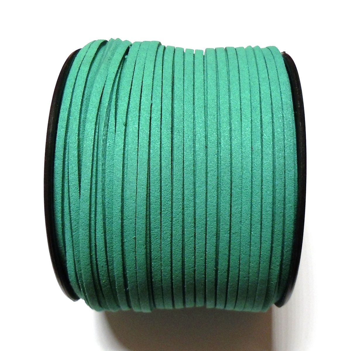 Imitation Flat Suede Cord 3mm - Turquoise 67
