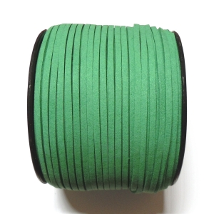 Imitation Flat Suede Cord 3mm - Green 57