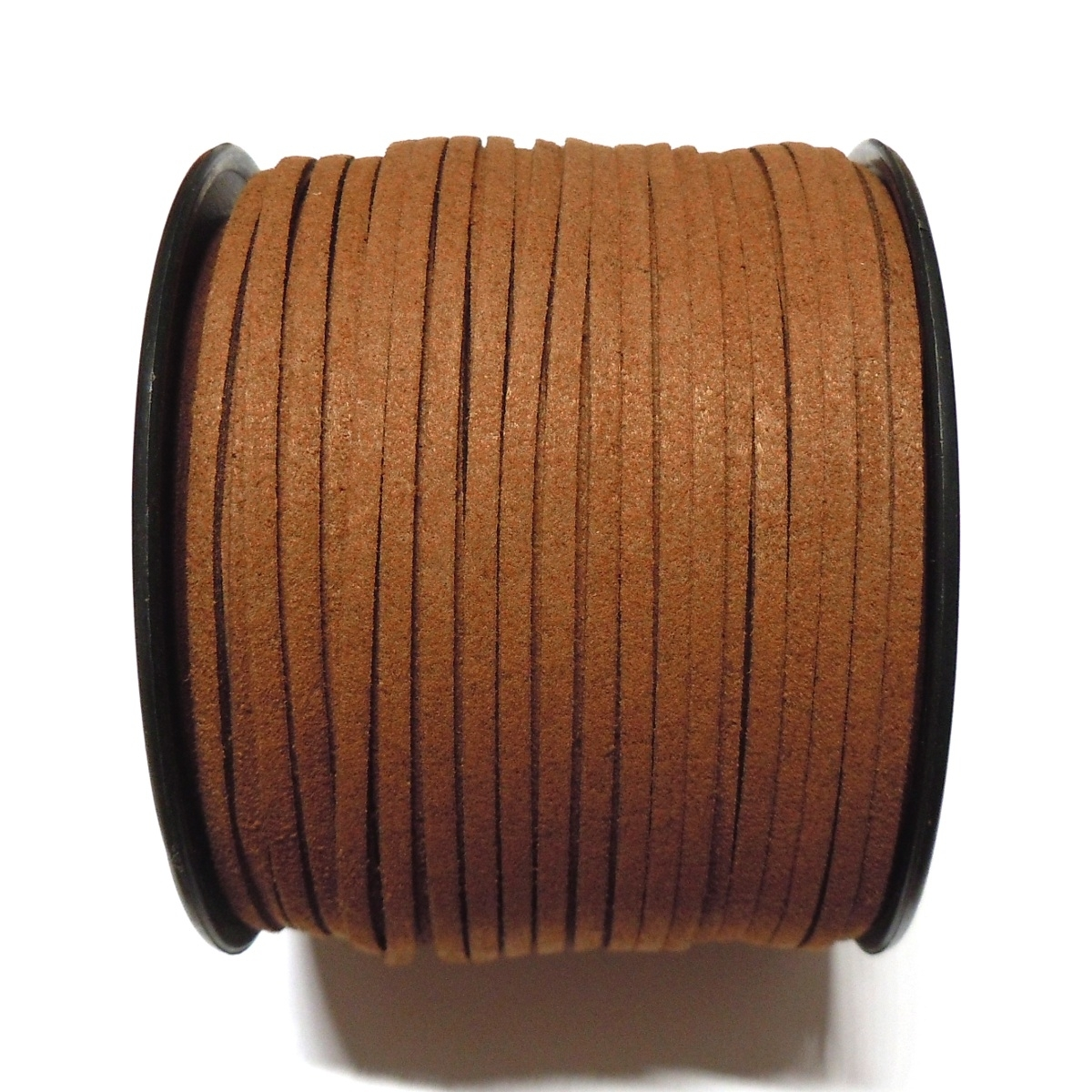 Imitation Flat Suede Cord 3mm - Brown 47