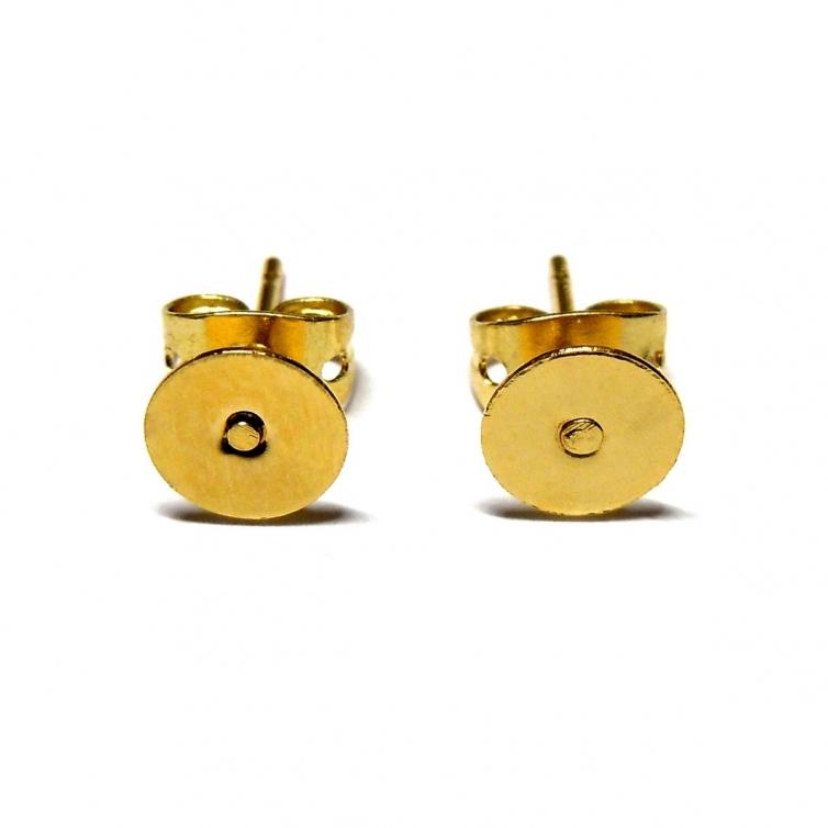 S/RF Earring Bases 6mm