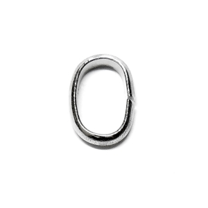 Oval Flat Wire Jump Ring 10x7mm