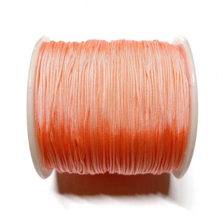 Cordon De Nylon 0.7mm - Salmon Claro 182