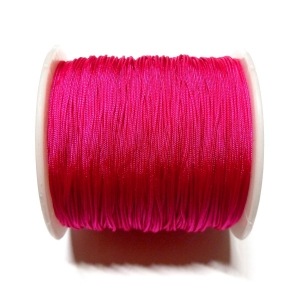 Cordon De Nylon 0.7mm - Fucsia 129