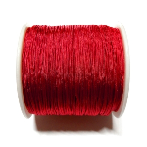 Nylon Cord 0.7mm - Dark Red 122