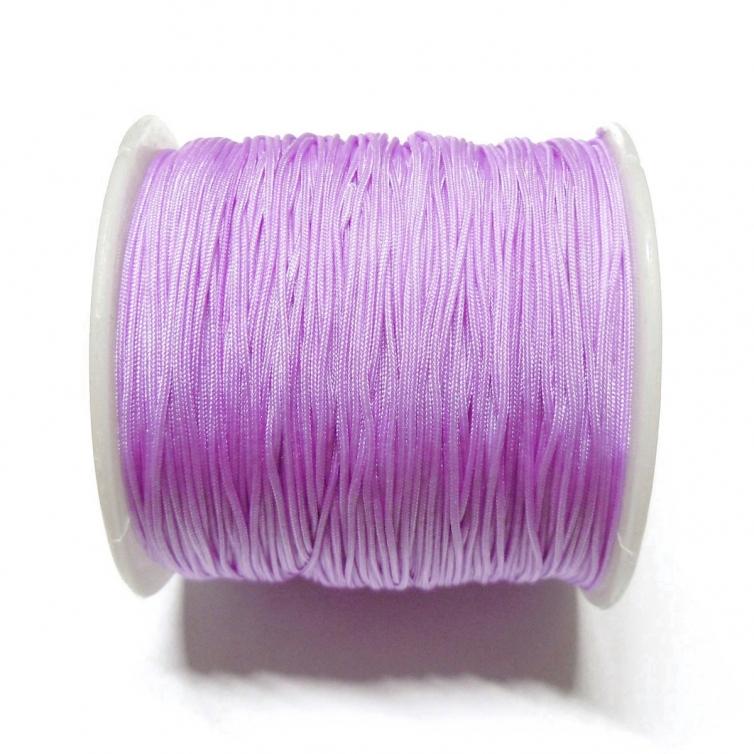 Cordon De Nylon 0.7mm - Lila Claro 672