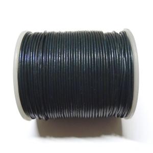 Cordon Cuero 1.5mm - Azul Petroleo 107